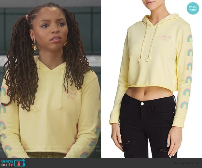 After The Storm Sweatshirt by Desert Dreamer worn by Jazlyn Forster (Chloe Bailey) on Grown-ish