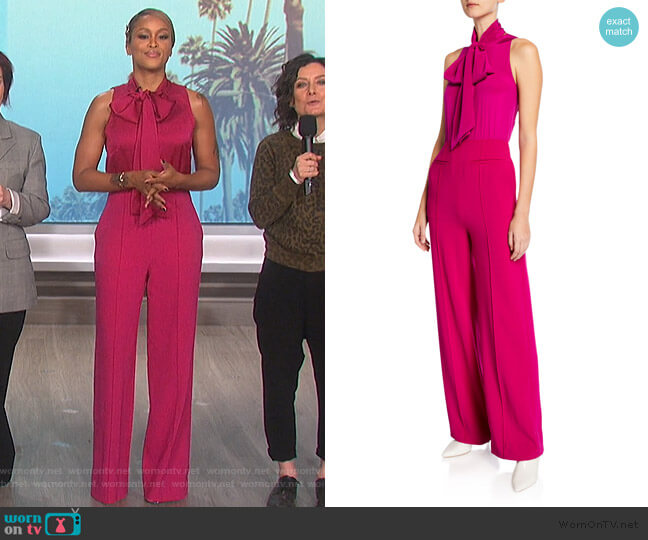 Virginie Jumpsuit by Diane von Furstenberg worn by Eve  on The Talk