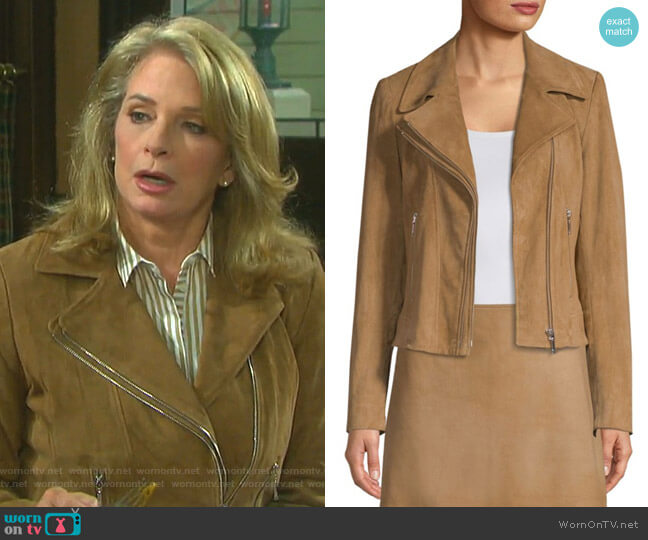 Angalie Jacket by Elie Tahari worn by Marlena Evans (Deidre Hall) on Days of our Lives