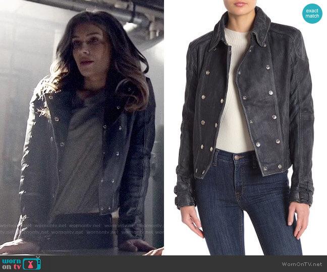 Free People Avis Jacket worn by Dinah Drake (Juliana Harkavy) on Arrow