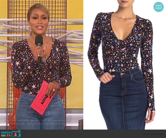Girls Like Us Bodysuit by Free People worn by Eve  on The Talk