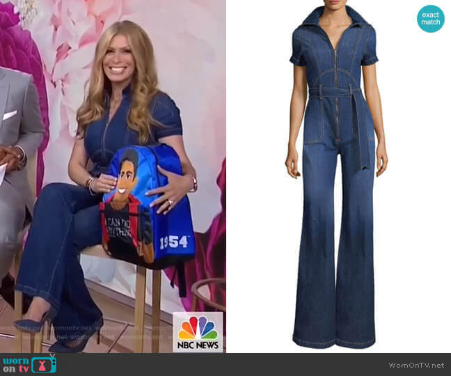 Gorgeous Jumpsuit by AO.LA by Alice + Olivia worn by Jill Martin (Jill Martin) on Today