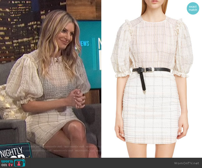 Adelaide Dress by Isabel Marant worn by Morgan Stewart (Morgan Stewart) on E! News