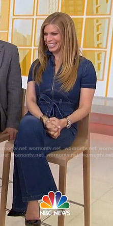 Jill's denim jumpsuit on Today