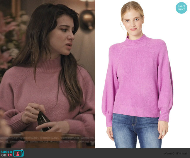 Jenlar Sweater by Joie worn by Allison McCord (Kathrine Herzer) on Madam Secretary