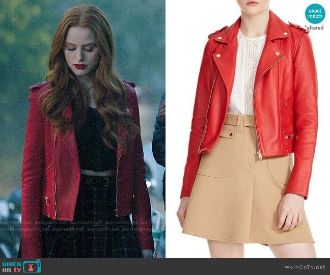 Maje Basalt Jacket worn by Cheryl Blossom (Madelaine Petsch) on Riverdale