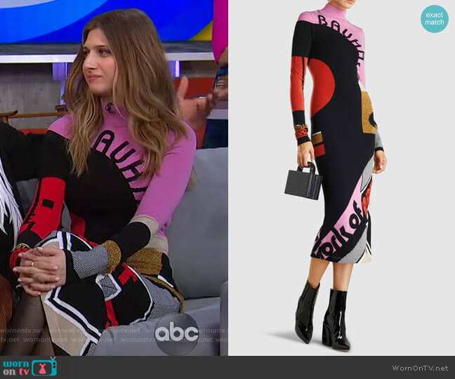 Alta Dress by Mary Katrantzou worn by Emily Arlook on GMA Day