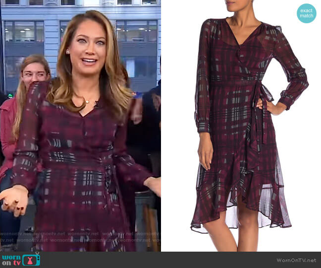 Wrap Dress by Nanette Nanette Lepore worn by Ginger Zee  on Good Morning America