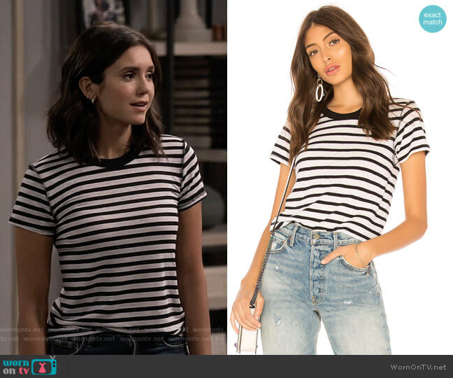 Alessi Tee by NSF worn by Clem (Nina Dobrev) on Fam