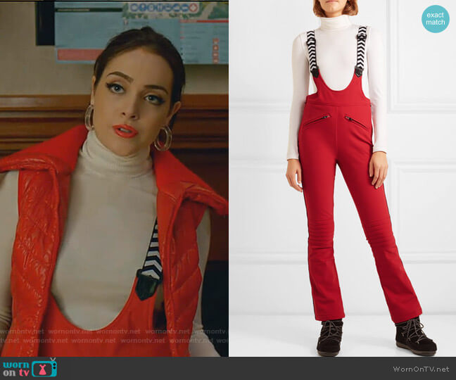 Racing II Ski Pants by Perfect Moment worn by Fallon Carrington (Elizabeth Gillies) on Dynasty