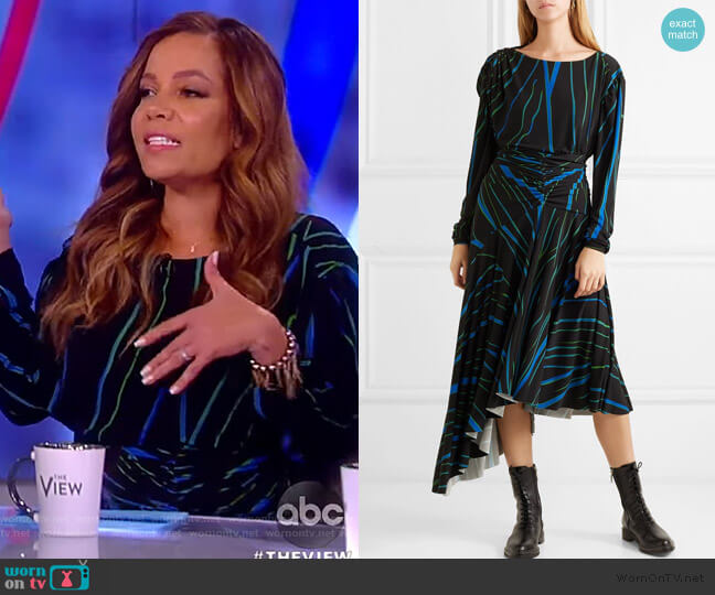 Melissa Dress by Preen by Thornton Bregazzi worn by Sunny Hostin  on The View