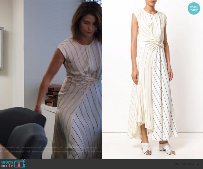 Twisted Henley maxi dress by 3.1 Phillip Lim worn by Lisa Turner (Cobie Smulders) on Friends from College