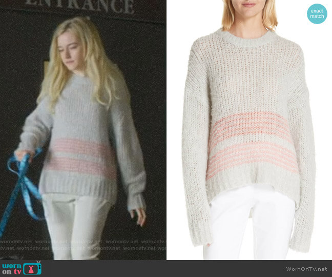 Iceland Sweater by Rag & Bone worn by Terra Newell (Julia Garner) on Dirty John