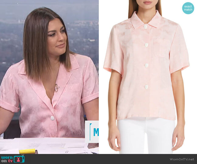 Mila Shirt by Rejina Pyo worn by Carissa Loethen Culiner  on E! News