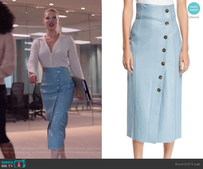 Rejina Pyo Scout Skirt worn by Samantha Wheeler (Katherine Heigl) on Suits