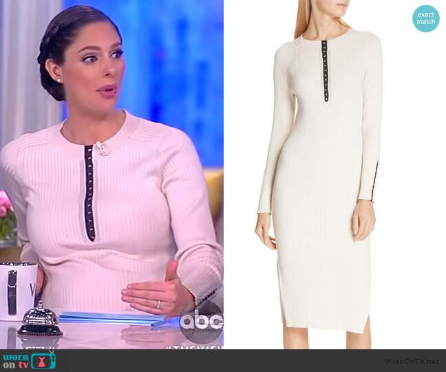 Brynn Dress by Rag & Bone worn by Abby Huntsman  on The View