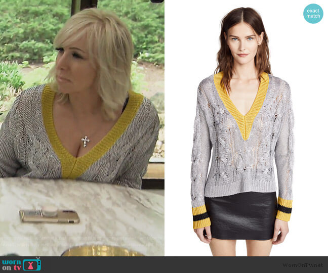 Emma Sweater by Rag & Bone worn by Margaret Josephs  on The Real Housewives of New Jersey