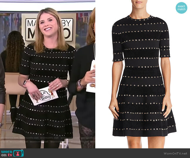 Jillian Dress by Ronny Kobo worn by Jenna Bush Hager  on Today