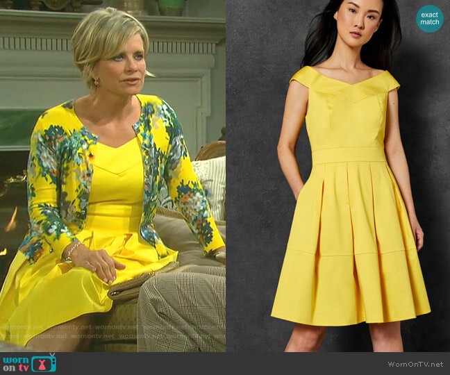 Jullee Dress by Ted Baker worn by Kayla Brady (Mary Beth Evans) on Days of our Lives
