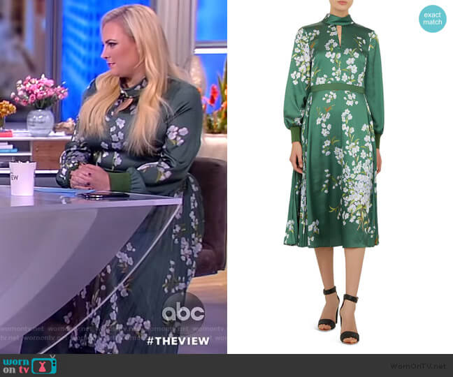 Jhenni Dress by Ted Baker worn by Meghan McCain  on The View