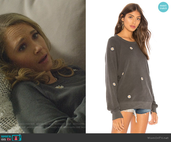 The College Sweatshirt by The Great worn by Veronica Newell (Juno Temple) on Dirty John