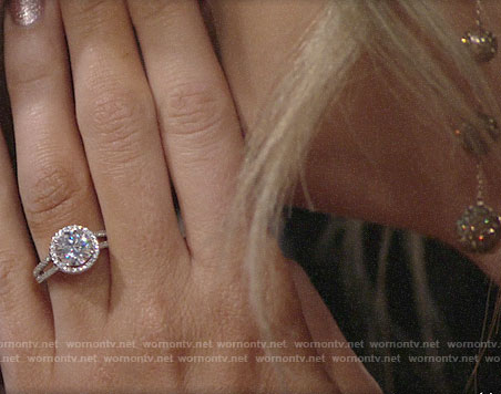 Abby's engagement ring on The Young and the Restless