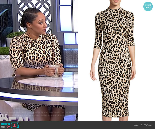 59f73a6dda02 Delora Dress by Alice + Olivia worn by Tamera Mowry (Tamera Mowry) on The