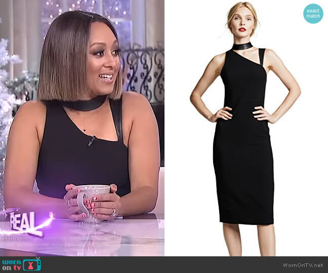 Jona Dress by Alice + Olivia worn by Tamera Mowry  on The Real