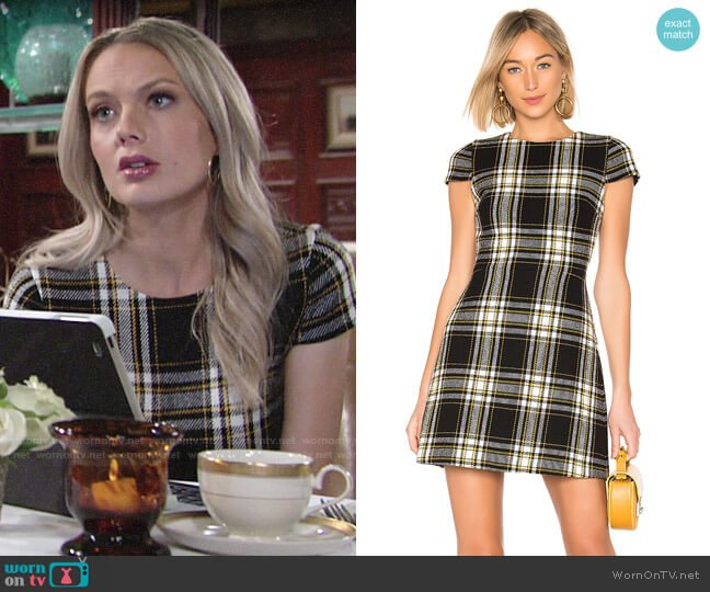 Alice + Olivia Malin Dress worn by Abby Newman (Melissa Ordway) on The Young & the Restless