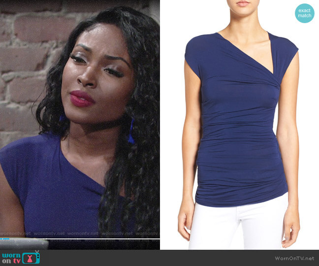 Bailey 44 Blaze Top worn by Ana Hamilton (Loren Lott) on The Young & the Restless