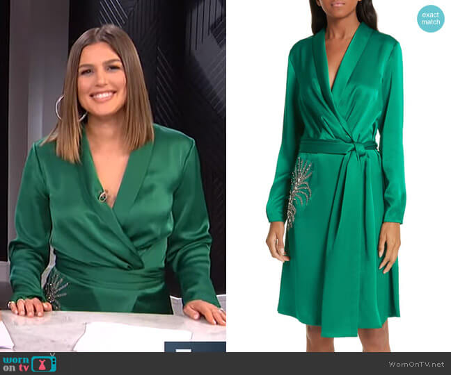Janeiro Dress by Ba&Sh worn by Carissa Loethen Culiner  on E! News