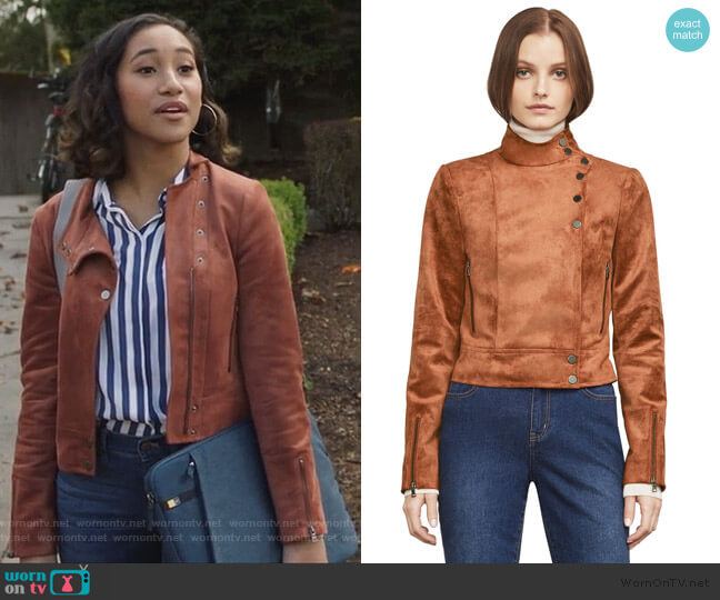 Bcbgmaxazria Hansen Jacket worn by Caitlin Martell-Lewis (Sydney Park) on PLL The Perfectionists