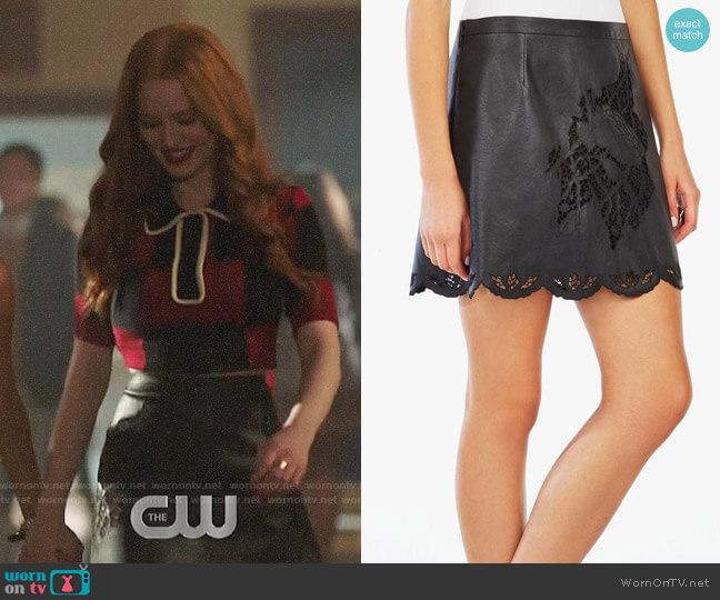 Bcbgmaxazria Jenhifer Skirt worn by Cheryl Blossom (Madelaine Petsch) on Riverdale
