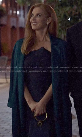 Donna's strapless dress on Suits