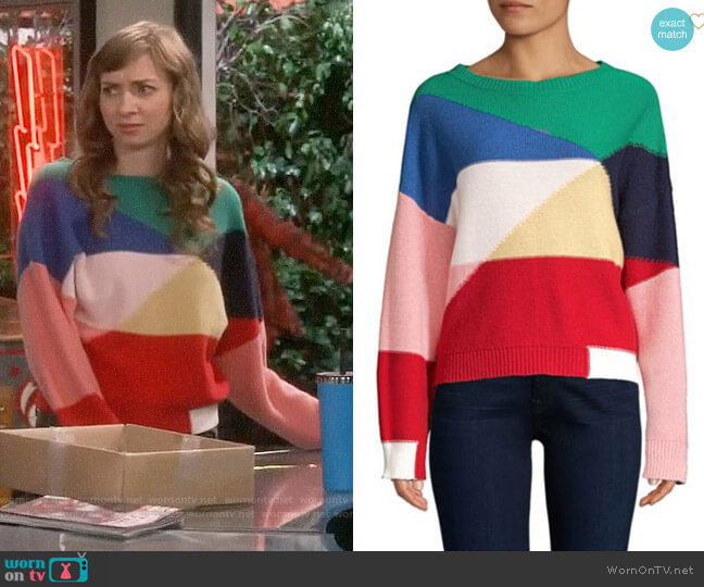 Joie Megu Sweater worn by Lauren Lapkus on The Big Bang Theory