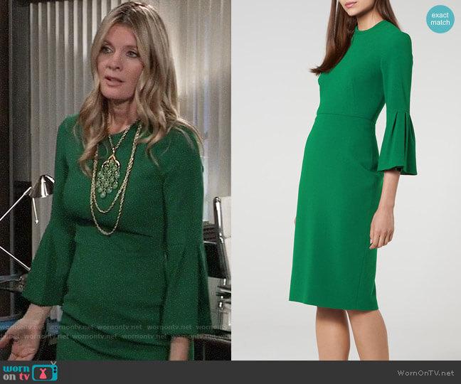 LK Bennett Doris Dress worn by Nina Reeves (Michelle Stafford) on General Hospital