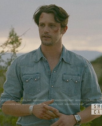 Max's chambray western shirt on Roswell New Mexico