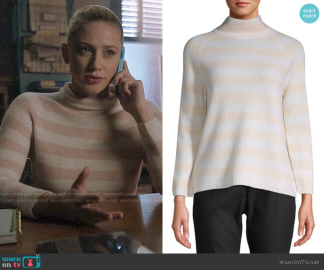 Max Mara Osvaldo Sweater worn by Betty Cooper (Lili Reinhart) on Riverdale