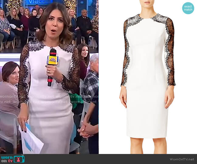 Mikayla Sheath Dress by Nha khanh worn by Cecilia Vega  on Good Morning America
