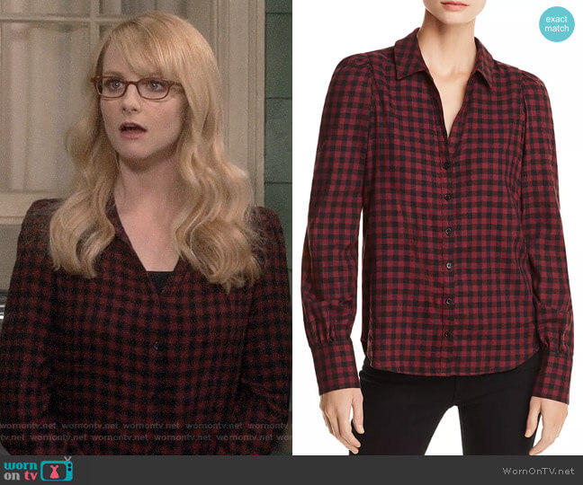 Paige Enid Shirt worn by Bernadette Rostenkowski (Melissa Rauch) on The Big Bang Theory
