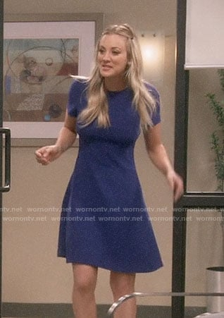 Penny's blue dress on The Big Bang Theory