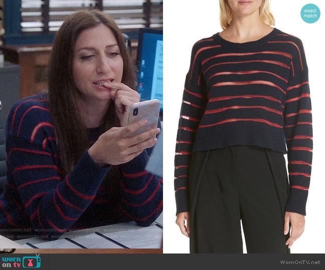 Rag & Bone Penn Sweater worn by Chelsea Peretti on Brooklyn Nine-Nine