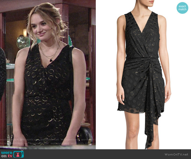 Ramy Brook Desiree Dress worn by Summer Newman (Hunter King) on The Young & the Restless