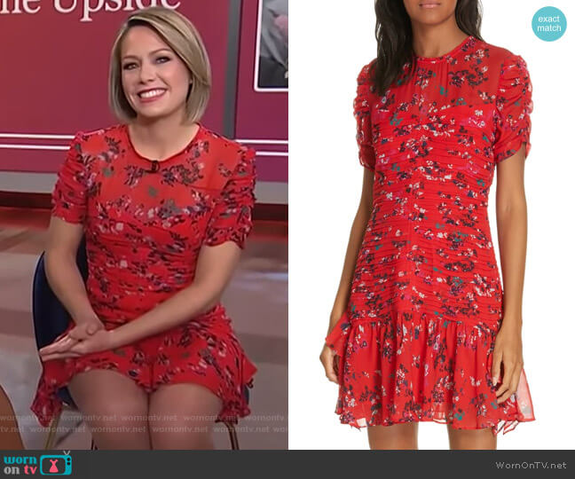Carti Dress by Tanya Taylor worn by Dylan Dreyer  on Today