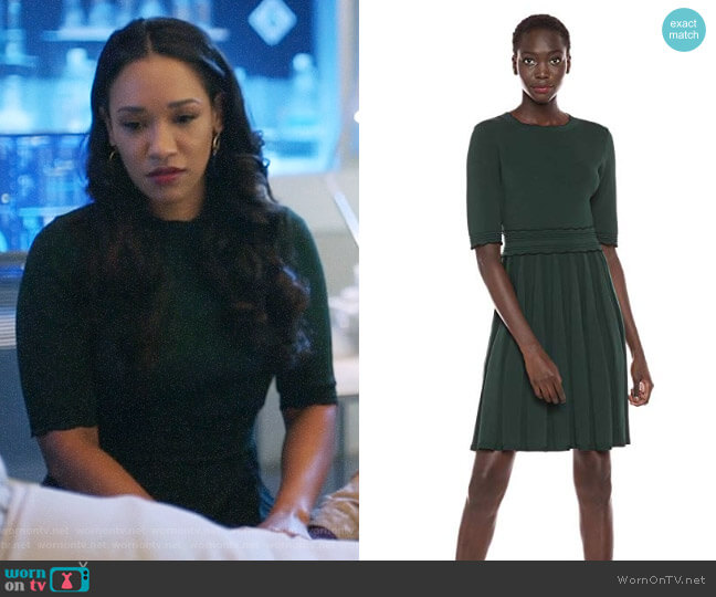 Ted Baker Dorlean Dress worn by Iris West (Candice Patton) on The Flash