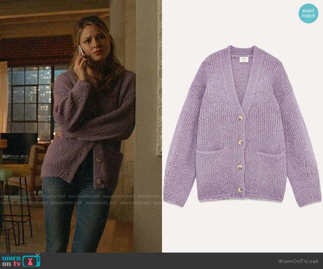 Aritzia Wilfred Eva Sweater worn by Kara Danvers (Melissa Benoist) on Supergirl