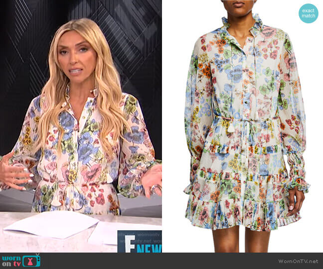 Jaila Dress by Alexis worn by Giuliana Rancic  on E! News