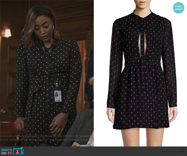 Leila Mini Dress by Alexis worn by Daisy Grant (Patina Miller) on Madam Secretary