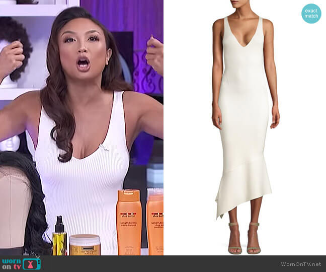 Selma Dress by Alexis worn by Jeannie Mai  on The Real