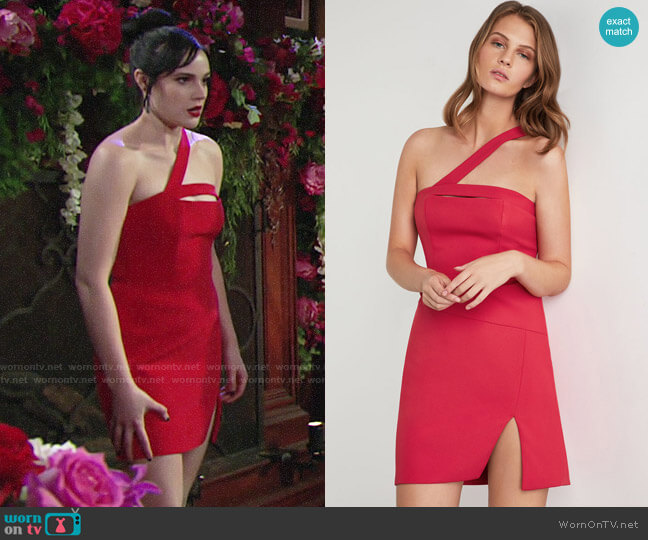 Bcbgmaxazria Dayne Dress worn by Tessa Porter (Cait Fairbanks) on The Young & the Restless